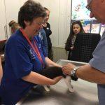 Ganz leise: Eingangsuntersuchung beim Tierheim-Tierarzt
